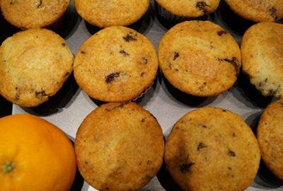 Appelsin muffins med søde appelsiner